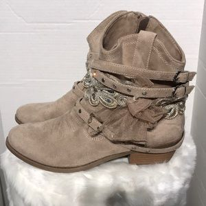 Not Rated Boho Western Bootie